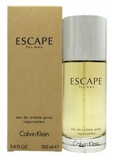 CALVIN KLEIN ESCAPE EAU DE TOILETTE 100ML SPRAY - MEN'S FOR HIM. NEW