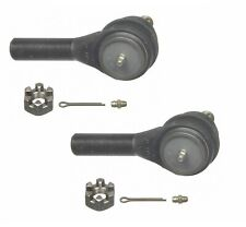 For Dodge D250 D350 89-93 Pair Set of 2 Front Outer Steering Tie Rod Ends Moog