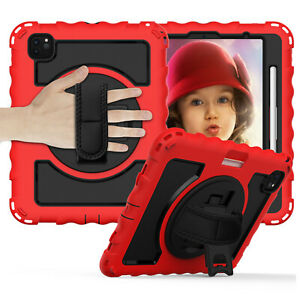 For iPad 8th 7th 10.2/6th 5th 9.7/Air 2/Pro 11 Shockproof Stand Armor Case Cover