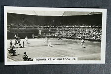 Fred Perry  Wimbledon Men's Doubles   Original 1930's Action Photo Card  VGC