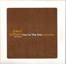 Paul Simon - You're The One USA sampler CD
