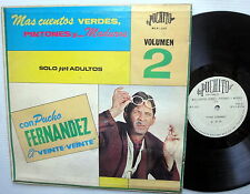 PUCHO FERNANDEZ El Veinte-Veinte LP Solo para Adultos VOL.2