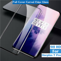 9D Curved Screen Protector Tempered Glass Film Full Cover for OnePlus 7T Pro