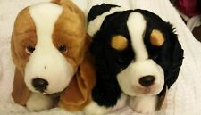 RUSS Yomiko Classics plush Dog KING CHARLES SPANIEL & BASSET HOUND  Lot of 2