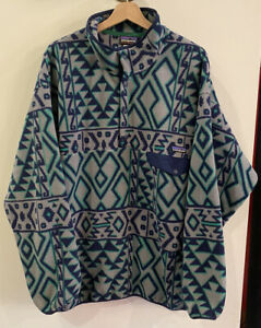 Men's Patagonia Synchilla Aztec Print Fleece. Size XL.