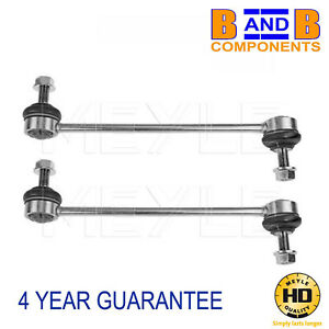 VW DROP LINK FRONT ANTI ROLL BAR RODS MEYLE HD PAIR TRANSPORTER T5 & T6 A1255