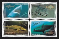 Canada — Block of 4  — Ocean Water Fish #1641-1644 (1644a) — MNH