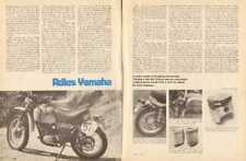 1975 Yamaha DT360A Enduro Motorcycle -  4-Page Vintage Article