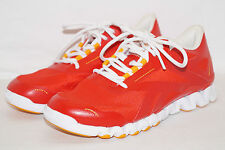 REEBOK ZIGNANO Fuse Trainers Gr.38 UK 5 rot orange J84418 Joggen laufen walken