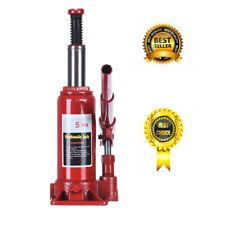 5 Ton Hydraulic Bottle Jack Car Repair tools Manual Lift truck Car Jack US