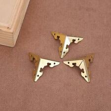 12pcs Metal Carve Jewelry Box Bag Corner Protector Furniture Decorative Bracket