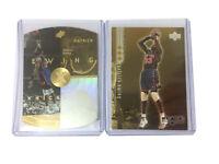 Patrick Ewing parallel Lot 1998-99 SPx Gold -Upper Deck Black Diamond Gold /1500