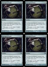 4x SPRINGLEAF DRUM Born of the Gods MTG Artifact Unc