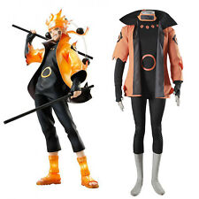 Uzumaki Naruto Cosplay Rikudou Sennin Sage of the Six Paths Costume Full Outfits
