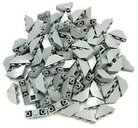 Lego Lot of 100 New Light Bluish Gray Slopes Inverted 45 3 x 1 Double Parts
