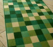 "Mode Teppich Läufer ""PATCHWORK GRÜN"" 85 cm breit NEU"