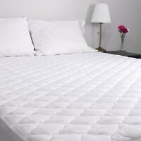 MaxCool Quilted Mattress Pad - QUEEN Bed Size - 60 x 80 x 15 in - Hypoallergenic