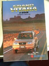 Suzuki Grand Vitara 5 Door range brochure c1999