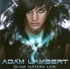 Glam Nation Live Adam Lambert Audio CD