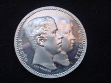 Sweden, King Gustaf V & Victoria Of Baden 1891 Marriage Medal With Case