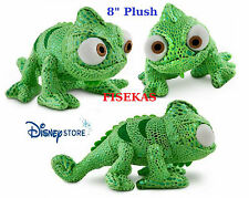 Disney Store Tangled Plush Green Pascal 8 inch Mini Chameleon Bean Bag NEW