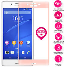 For Sony Xperia XP 100% Genuine Tempered Glass Full Screen Protector Film Pink