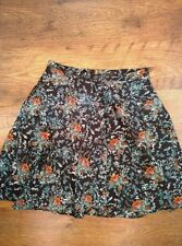 Atmosphere A-line Short/Mini Floral Skirts for Women