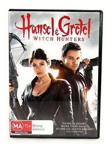 Hansel & Gretel: Witch Hunters (DVD, 2013) Jeremy Renner Region 4 Free Postage