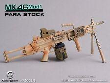 CRAZY DUMMY 1/6 MK46 MOD1 Para Stock - Camo for Action Figure #CD-75002-5