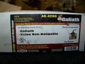 Goliath AG-4200 Water Sensor Kit w/14 vibration isolators