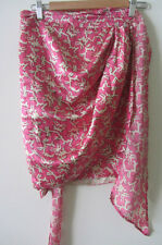 Isabel Marant Linoa Pleated Wrap Skirt, size 3, AUS 10-12