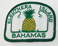 Eleuthera Island Bahamas embroidered patch souvenir
