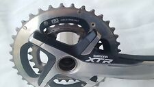 Shimano XTR M980 10 speed Dyna-Sys Crankset, 26x38t rings, 175mm - 659 g