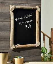 "28.3"" Large Chalkboard Wall Decor Rustic Branch Design Frame - 22"" x 28"""