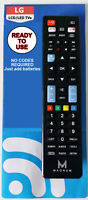 UNIVERSAL LG TV REMOTE CONTROL - A REPLACEMENT THAT WORKS ALL LG TV MODELS