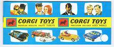 ▬►CORGI TOYS -  ANCIEN Catalogue  Catalog ORIGINAL 1966 (no DINKY) COMME NEUF