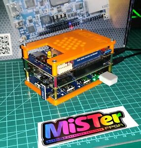 Mister FPGA 128M RAM IO board built & setup 3d print top/bottom kit