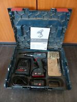 Bosch Professional GSR 14,4 2 Li Akkuschrauber mit 2 Akku Ladegerät im Koffer