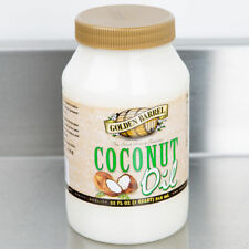 Golden Barrel 32 oz Coconut Oil Quart Healthy Cooking or Soap Making Ingredient