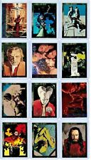 1992 TOPPS Bram Stoker DRACULA Promo CARDS Complete Set from Comics Movie Adapt.
