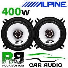 """ALPINE VOLVO 850 S 92-98 5.25"""" 13cm 2 Way 400 Watts Coaxial Rear Side Speakers"""