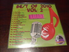 BEST OF 2010 VOL 2 KARAOKE DISC B10-02 CD+G POP TREY SONGZ SADE JASON DERULO