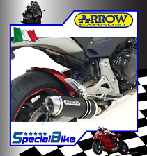 HONDA CB 600 F HORNET 2007 > 2013 SCARICO ARROW STREET THUNDER DARK INOX