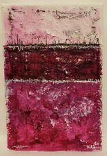 New ListingNo.868 Original Abstract Modern Minimal Mini High Textured Painting By K.A.Davis