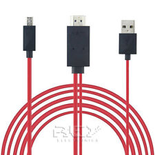 Cable MHL Micro USB a HDMI y USB, HDTV, Móvil TV ¡Desde España! v314