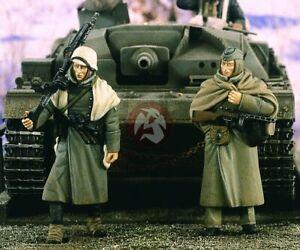 """Verlinden 1/35 """"Russian Winter"""" German Soldiers in Russia WWII (2 Figures) 2358"""