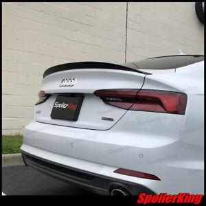 Rear Trunk Lip Spoiler (Fits: Audi A5 2017-on Sportback) Duckbill 284K
