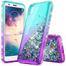 For Motorola Moto E6 Phone Case Bling Glitter Shockproof Slim TPU Silicon Cover