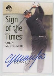 2014 SP Authentic Sign of the Times Colin Montgomerie #SOTT-CM Auto