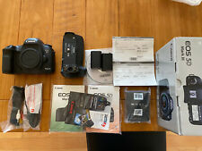 Canon EOS 5D Mark III Digital SLR Camera With Battery Grip - Good Condition